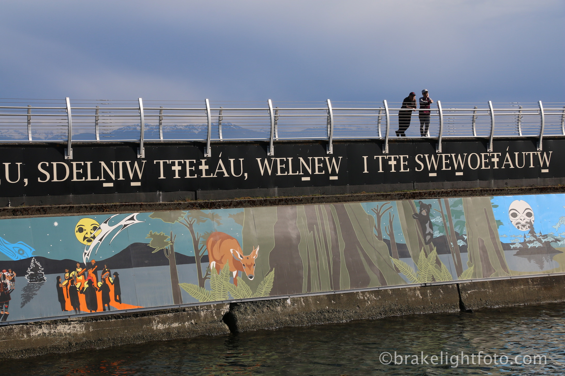Unity Wall Murals at Ogden Point Breakwater Visitor in Victoria