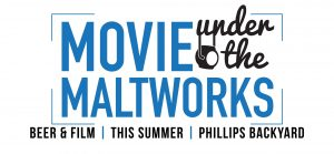 Movies under the maltworks, Victoria, BC