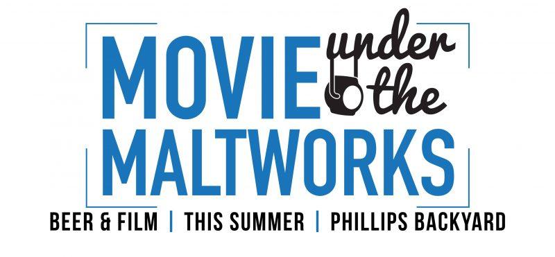 Movies under the maltworks, Victoria, BC