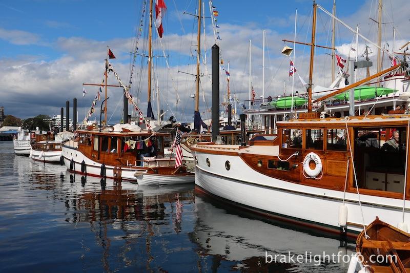 Classic Boat Festival, Victoria, BC