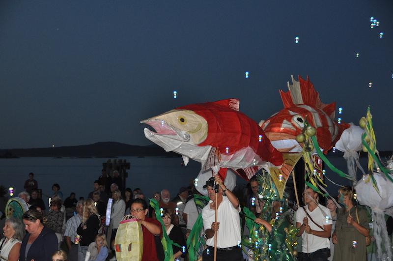 Salish Sea Lantern Festival, Sidney, BC