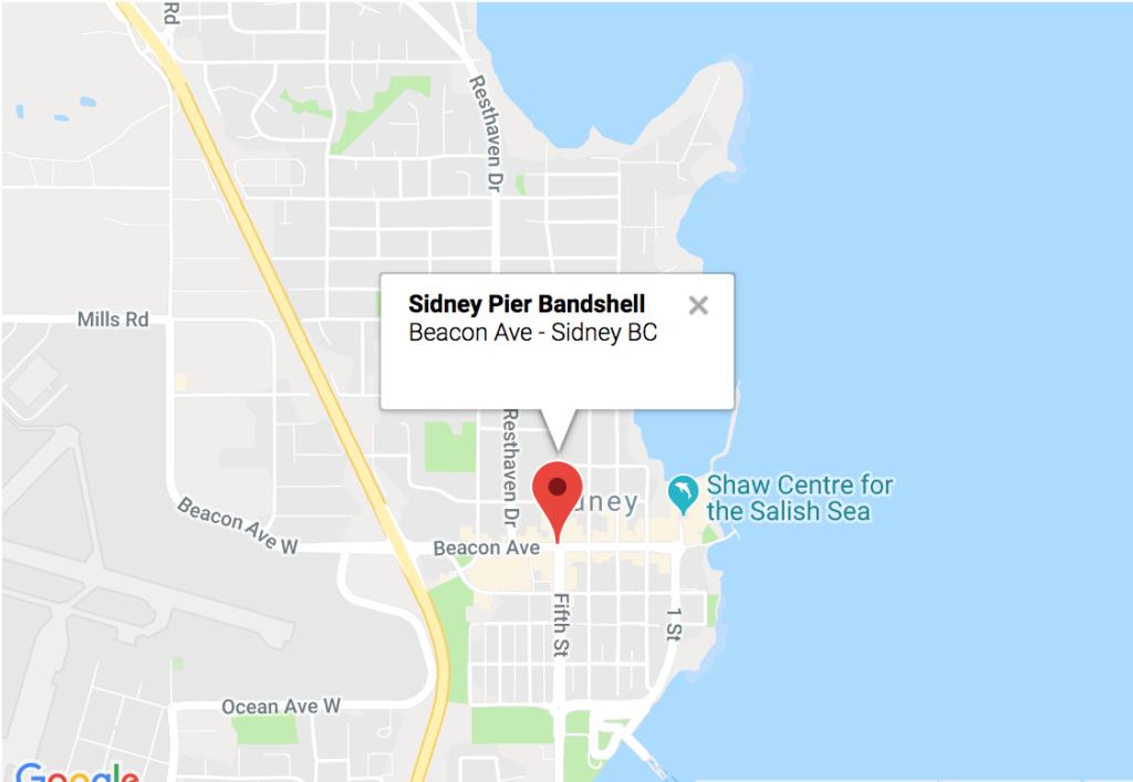 Sidney Pier Bandshell, Sidney, BC