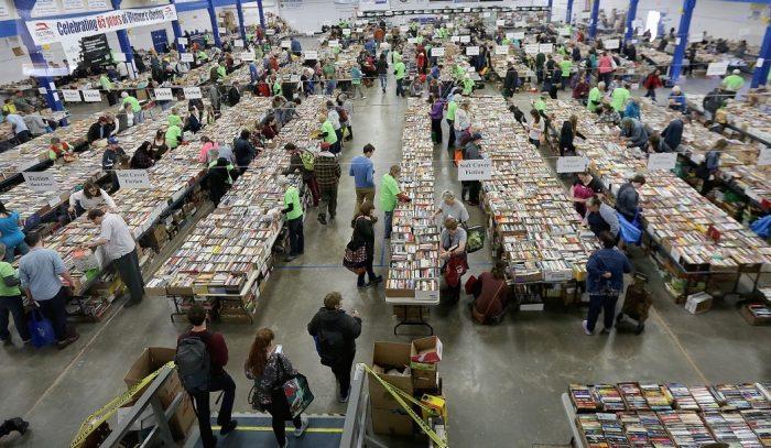 TC Book Sale, Victoria, BC