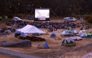 Camp-in Movie night at Fort Rodd Hill