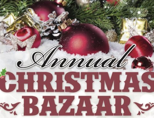 ST LUKE'S CHRISTMAS BAZAAR AND TEA