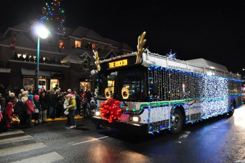 Christmas Parade in Sidney, BC
