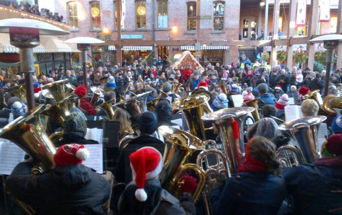 Tuba Christmas, Victoria, BC
