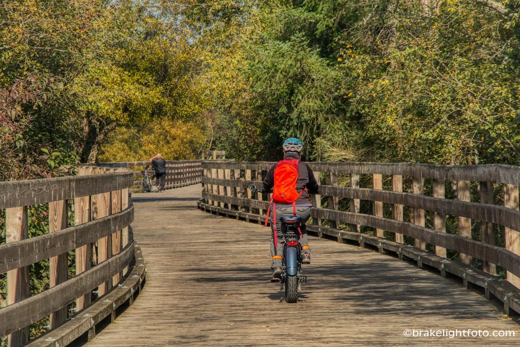 Biking Victoria