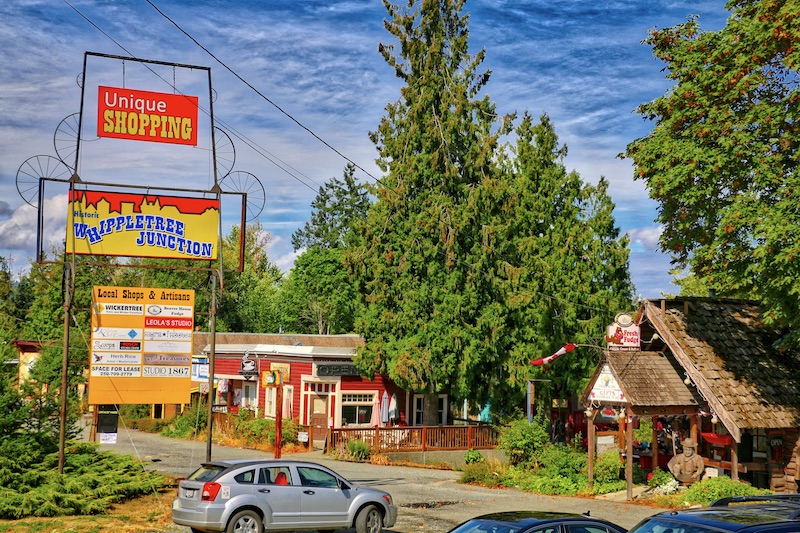 Whippletree Junction, Cobble Hill, BC