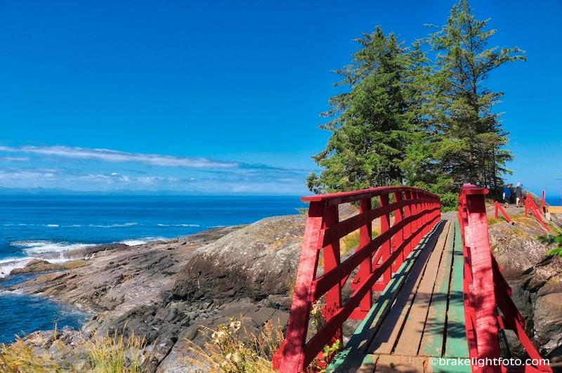 Point no Point Resort, Red bridge